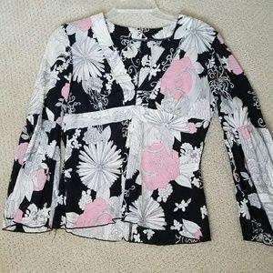 Pretty silk blouse