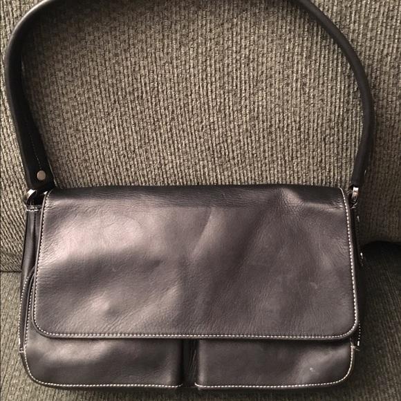 7995bcd779 ✨Final Sale✨Perlina Black Leather Hobo Handbag. M 58865dcf99086a0dea01304a