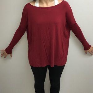 Tops - Red Piko shirt