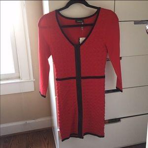 NWT Bebe Bandage Dress with Zipper