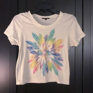 UO Crystal Graphic Crop Top