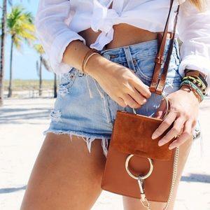The Wanderlust Bazaar Handbags - •LAST ONE//HP//Rumors Leather Mini Handbag•