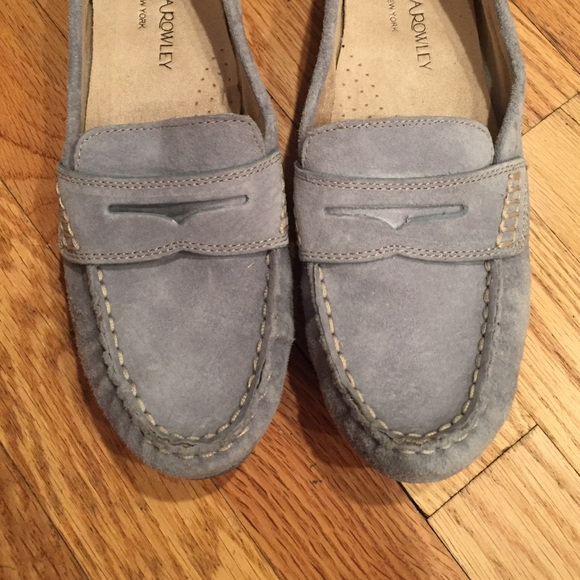 1facc75252191d Cynthia Rowley Shoes - Baby Blue Suede Cynthia Rowley Loafers