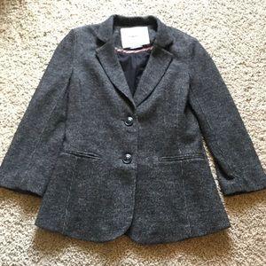 Anthropologie Cartonnier gray blazer S