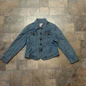 Ami Jackets & Blazers - Denim jacket tortious shell buttons