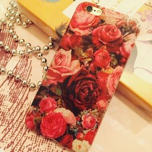 BUNZAR Accessories - RED ROSES 🌹 IPHONE 6 6S SOFT SILICONE CASE NEW