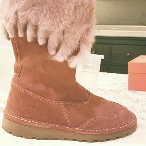 Naturino Other - Authentic leather lined Pink Naturino boots