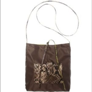 FALCHI by Carlos Falchi REVERSIBLE Crossbody Bag