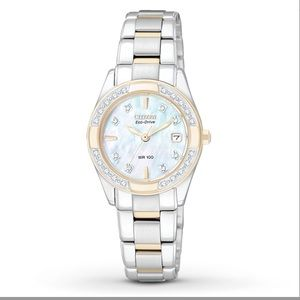 Citizen Accessories - Citizen Women's Watch Diamond Accents EW1824-57D