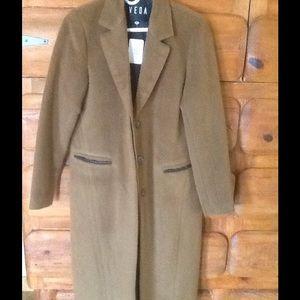 """VEDA Designer Wool blend coat. SIze M """"New"""""""