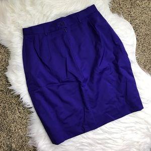 Escada Dresses & Skirts - [Escada] Purple Pencil Skirt