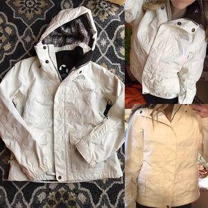 The North Face Jackets & Blazers - North face hyvent ski jacket shell coat xs plaid
