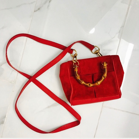 1be6436ce93 Gucci Handbags - 🚫NOT FOR SALE! Gucci Bamboo mini cross body bag