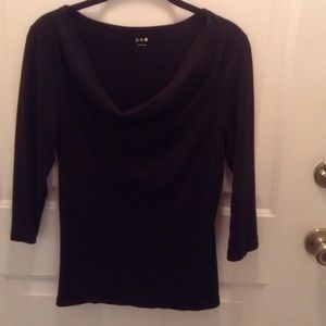 Three Dots Tops - Three Dots 3/4 Sleeve Top