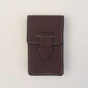 Perry Ellis Other - Perry Ellis Portfolio Genuine Leather Mini Wallet