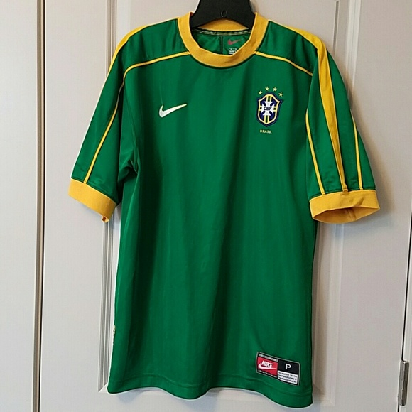 badcc290f7877 Official Brasil team soccer jersey from 1999. M_588682f64e95a3155017d57f