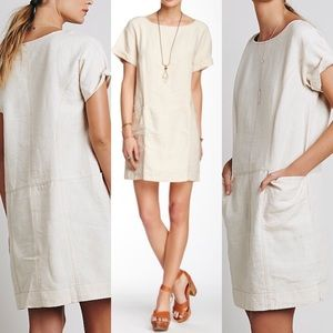 Free People Dresses & Skirts - NWT free people endless shore linen shift dress xs