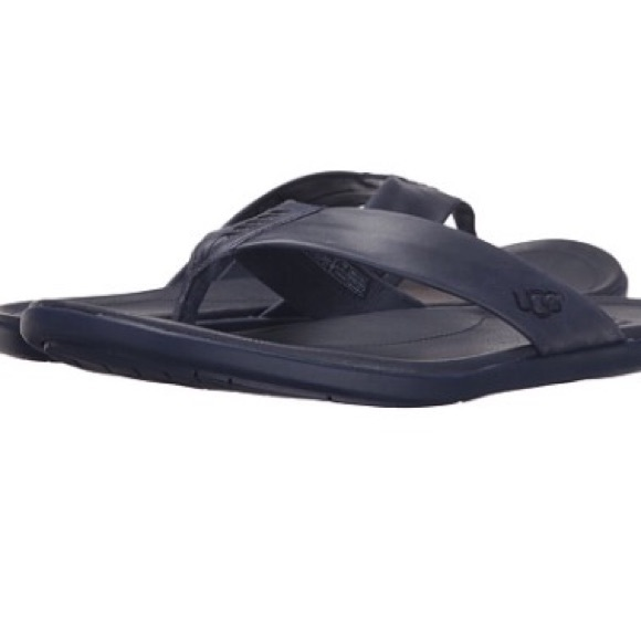 New Arrival Fashion Mens Casual Shoes - UGG Delray Black Leather