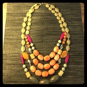 Anthropologie chunky necklace
