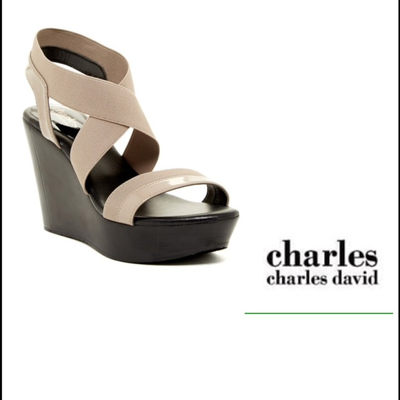 184cce260354 Charles By Charles David Wedge Sandal