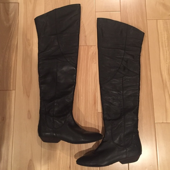 6796b524c2a Lucky Brand Shoes - Lucky Brand Sz 8 Gwen Over the Knee or Cuff Boot