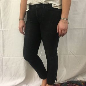 J. Crew corduroy pants with ankle zippers
