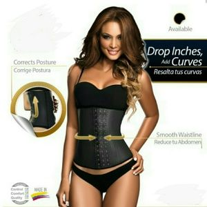 3 HOOKS COLOMBIAN RUBBER LATEX WAIST TRAINER