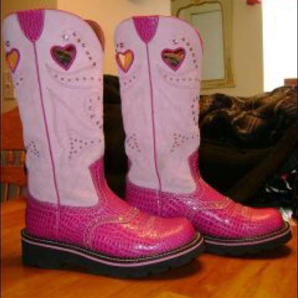 Ariat Shoes | Pink Ariat Tall Fatbaby