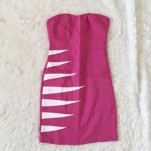 Ami Dresses & Skirts - Pink bandage dress