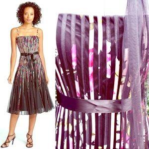 NWT JS Collections Ribbon Trim Mesh Dress