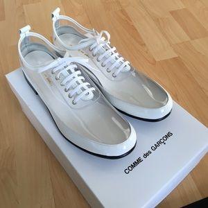 Comme des Garcons Shoes - Comme des Garcons Lace Up Clear PVC - oxford shoes