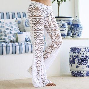 Pilyq Pants - PilyQ Malibu Lace Pants