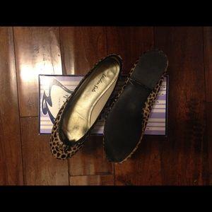 London Sole Shoes - London Sole Calf Hair flats size 8