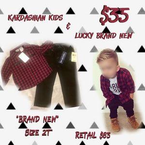 Kardashian Kids Other - NWT ~Kardashian Kids & Lucky Brand~