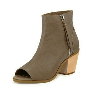 Kelsi Dagger Brooklyn Kourtney Peep Toe Booties