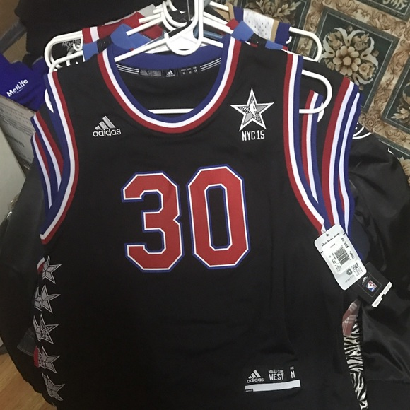 hot sale online 9a14b 2c856 Stephen curry all star jerseys nyc 2015 NWT