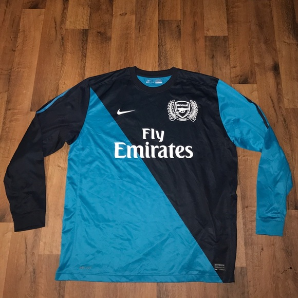 Bien connu Nike - 2XL Nike Arsenal Fly Emirates Long Sleeve Jersey from  DL36