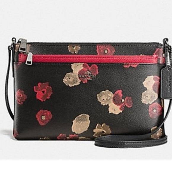 Coach Bags   Sold Floral Crossbody Bag   Poshmark d645bc072d