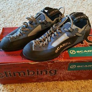 Scarpa Shoes - SCARPA women's techno lady rock climbing shoes 37