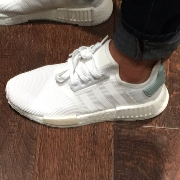 Adidas Shoes Nmd R1 White Womens Size 85 Nwt Poshmark
