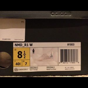 Mujeres Adidas Tamaño Nmd 8.5 6gSgld