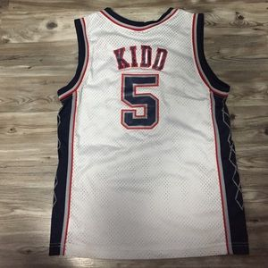 Nike Shirts - Brooklyn Nets Jason Kidd  5 Retired Jersey 0d8ea2543