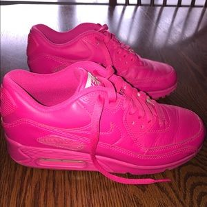Hot/ Neon Pink NIKE Air Max Women's Size 7