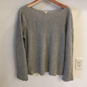 Sweaters - Boatneck Waffle Sweatshirt!