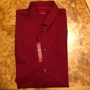 Alfani Other - 🍇 NWT Men's Red Dress Shirt