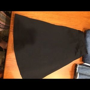 Size 6-skater skirt-black
