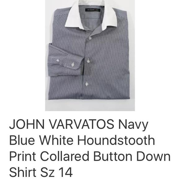 John Varvatos Other - JOHN VARVATOS ⭐️ USA  BUTTON DOWN SHIRT SZ 14