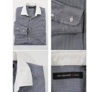 John Varvatos Shirts - JOHN VARVATOS ⭐️ USA  BUTTON DOWN SHIRT SZ 14