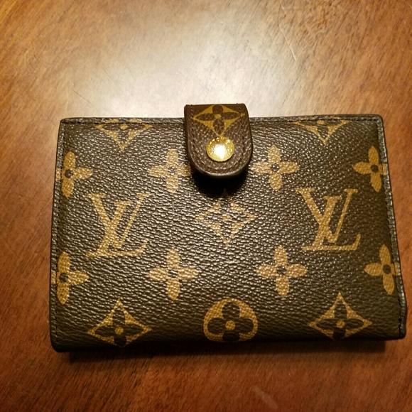 24297ddf0bca Louis Vuitton Handbags - Vintage lv wallet with mirror. DO NOT BUY .