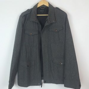 Brixton Other - Dark Grey Men's Coat